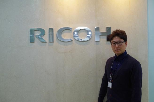 (주)리코코리아 기업 속 사진