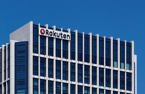 라쿠텐 기업 속 사진